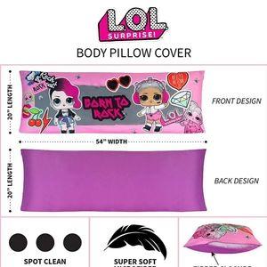 LOL Surprise Body Pillowcase